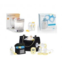 Medela - Freestyle Breastpump Package with Digital Steam Sterilizer